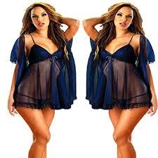 deep blue <b>plus size</b> s m l xl 2xl 3xl <b>4xl 5xl 6xl</b> lingerie babydoll ...
