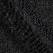 decor linen fabric multiuse: acetex sunrise linen blend black large  acetex sunrise linen blend black