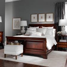 brown master bedroom bed wood furniture