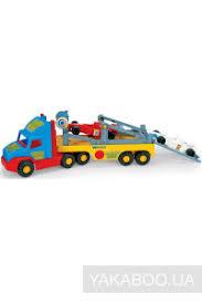 <b>Игрушка Wader Super Truck</b> с авто Формула (36620) купить в ...
