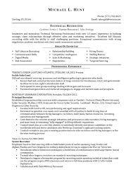 hr professional resume sample resume recruiter resumes for sample hr recruiter cover letter