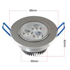 cut out73mm dimensions 90mm d x 50mm h beam angle 45degrees power9w 3x3w led working temperature 25c 65c weight 200glightdriver ceiling spot lighting