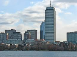 boxy and nondescript the charles luckman designed office and retail tower has its critics but its unmistakable against the skyline boston office space charles