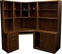 Office Table  Wood Corner Desk Furniture Accent Woodworking 9 Compartements Oak Workstation Desks Design Designer Home Decor   N
