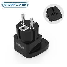<b>NTONPOWER</b> UTA <b>Universal</b> Travel Adapter European Plug ...