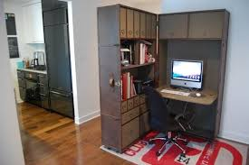 cute home office ideas excelent corner small home office in a wall divider with wooden cabinets small office home
