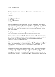 simple sample resume examples  seangarrette cosimple resume examples   simple sample resume format