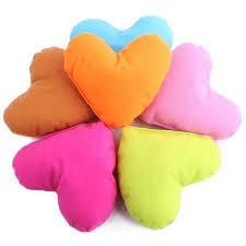 <b>1pcs</b> Plush Cute Cotton Heart Pillow <b>Pet Toys</b> For Large <b>Dog</b> Bite ...