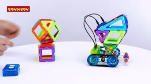 <b>Магнитный конструктор GeoSmart</b> - YouTube
