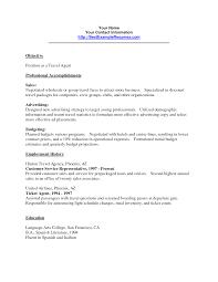 11 travel agent resume sample job and resume template junior travel consultant resume