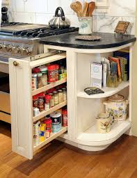 kitchen storage cabinet spice rack