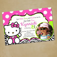 knockout hello kitty pool party invitations birthday party pleasant hello kitty party invitations template