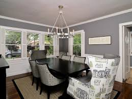 grey dining room color painting design ideas