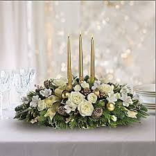 <b>Royal Christmas</b> Centerpiece Bouquet - Teleflora