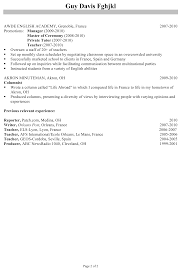 chronological resume sample program director chronological resume sample program director 2