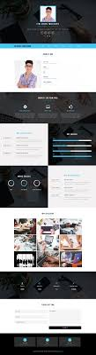 classy resume a personal category bootstrap responsive web template