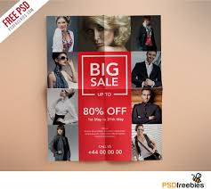 fashion retail s flyers psd template this flyer fashion retail s flyers psd template this flyer has a cool look