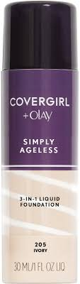 CoverGirl Simply Ageless <b>3-In-1 Liquid</b> Foundation | Ulta Beauty