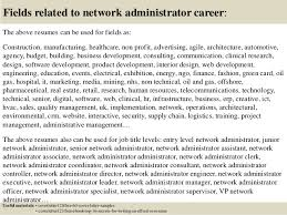 16 fields related to network administrator cover letter network administrator