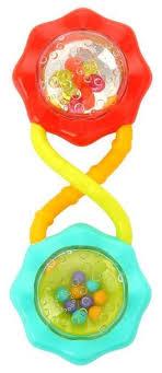 <b>Погремушка Bright Starts</b> Веселые шарики — купить по выгодной ...