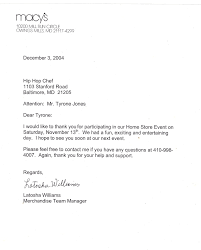 official thank you letter thank you letter  thank you letter format letter format 2017 official