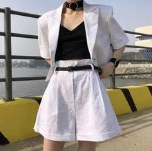 <b>korean women</b> button suit <b>blazer</b>