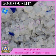 China 1-8mm Factory Wholesale <b>High Quality Silica Gel</b> Cat Litter ...