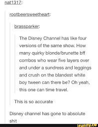 DisneyChannel - iFunny :) via Relatably.com
