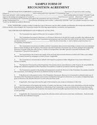 the aztec recognition agreement nyc blog estate new york city sample recognition agreement pg 1
