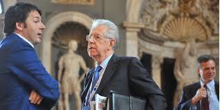 Risultati immagini per Renzi Monti e Letta