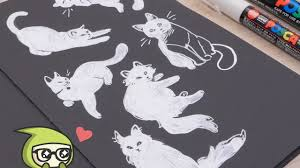 How to Use White <b>Gel Pens</b> and <b>Markers</b> - YouTube