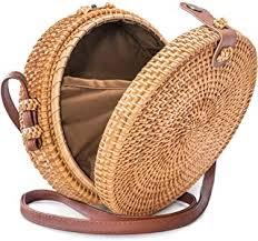 Straw Women's Wallets & Handbags - Amazon.com