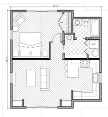images about Small Space Floor Plans on Pinterest   Floor    one bedroom house plans  I pinned this to  quot future plans quot  because this would be a wonderful garage conversion    just a few modifications such as no W D