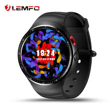 smart watches lemfo les1 bluetooth 3g sim smart watch phone gps wifi sport for android ios