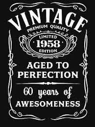 <b>1958</b> Legend T-Shirts | Redbubble