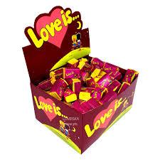 """Купить оптом <b>Жевательная резинка</b> """"<b>Love is</b>"""" вишня-лимон ..."""