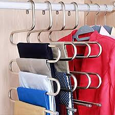 DOIOWN Pants Hangers S-Shape Stainless Steel ... - Amazon.com
