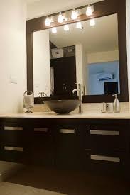ideas bathroom light mirrors  bathroom vanity mirror and light ideas amp designs backlit mirrors wi