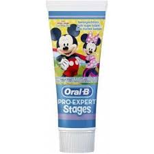 <b>Oral</b>-<b>B</b> 81470887 Pro-Expert Stages Mickey & Minnie Toothpaste