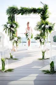 Modern tropical ceremony - Palma Dolce (Wedluxe) | Тропический ...