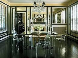 Mirror Dining Room Tables How To Decorate Mirrored Dining Table