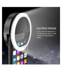 LECO Night <b>LED Selfie</b> Flash Light <b>Ring Flash</b> (Black) - <b>Selfie</b> Sticks ...
