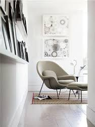 womb chair ottoman designed by eero saarinen balzac lounge chair designer