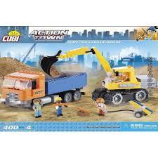 <b>Конструктор COBI Dump Truck</b> and Excavator купить недорого в ...