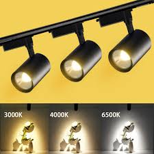 Dimmable <b>LED Track Lamp</b> Light <b>12W</b> 30W 20W COB <b>Track Lights</b> ...