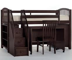 drawers bunk bed with stairs and desk bunk beds desk drawers bunk