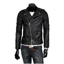 <b>Men's PU Leather</b> Jacket for Men-buy at a low prices on Joom e ...