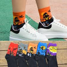 <b>Halloween</b> Creative Socks Harajuku Lovers Cotton Witch <b>Ghost</b> ...