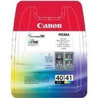 Набор <b>картриджей Canon PG</b>-<b>40</b>/CL-41 <b>Multi Pack</b> 0615B036 (2 ...
