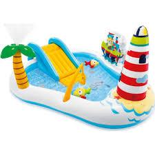 Бассейн детский-<b>игровой центр Intex</b> 57162 Веселая Рыбалка ...